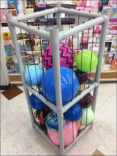 Freestanding Ball PVC Bulk Bin 2