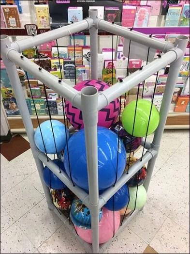 Freestanding Ball PVC Bulk Bin 3