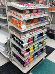 Gravity Feed Endcap For Twine Spools