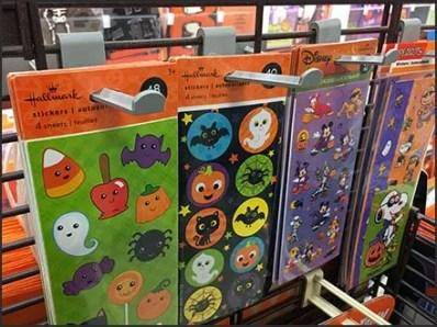 Halloween Grid Butterfly Display Hook