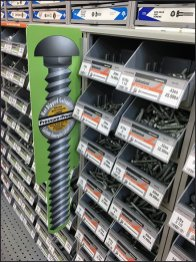 Fastener Color-Coded Category Definition