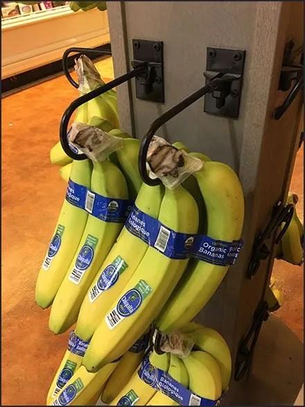 Banana Tower Spinner With Downward Hooks