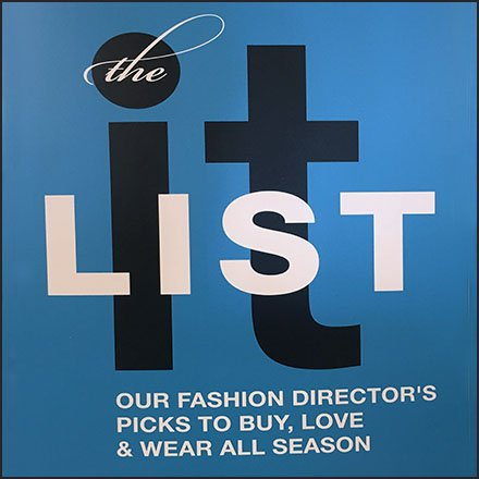 Fashion Director's List For Fall At Macy's