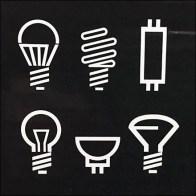 Universal Lighting Media Icons and Symbols