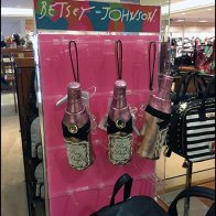 Pink Rosé Purse Merchandising by Betsy Johnson