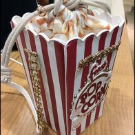 Popcorn Purse Merchandising by Betsy Johnson