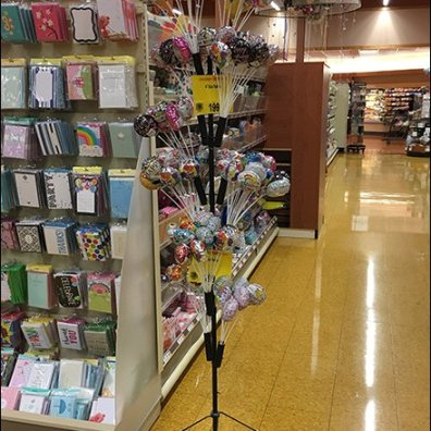 Mini Balloon Tree Merchandiser with Quivers