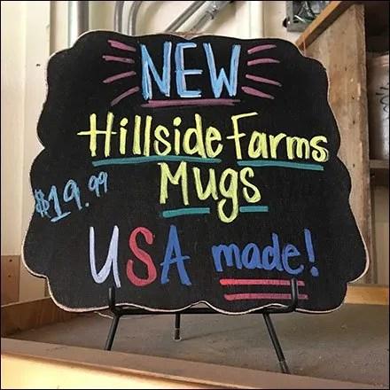 Mug Country Of Origin Chalkboard Square
