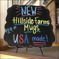 Mug Country Of Origin Chalkboard Square