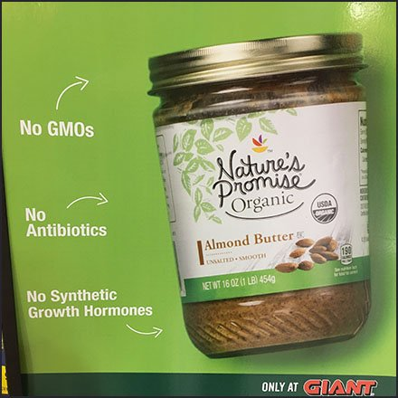 No GMOs Inside As Nature's Promise