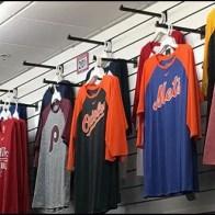 T-Shirt Slatwall Faceouts Overhead