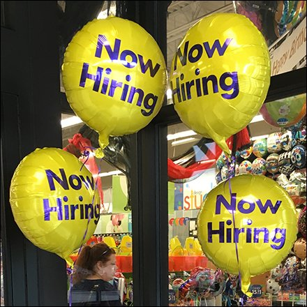 Now Hiring Inflatables Mantra At Party City
