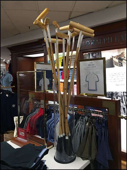 Polo Mallet Branding at Polo Ralph Lauren