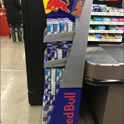 Red Bull Grab-N-Go 4-Pack at Cashwrap