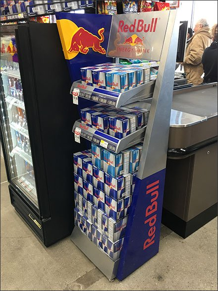 Red Bull Grab-N-Go 4-Pack at Cashwrap