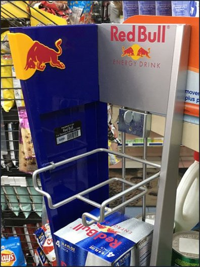 Red Bull Mini PowerWing Display