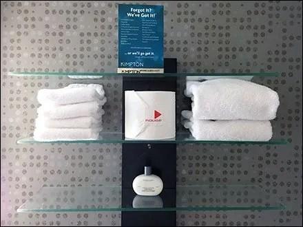 Branding Toilet Paper in Hospitality Retail