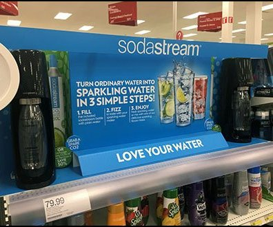 SodaStream Shelf-top Category Definition