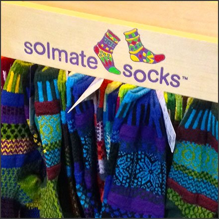 Solmate Socks Freestanding Wood Outfitting Square1