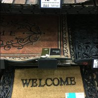 Wall of Welcome Mats Productstop Upgrade