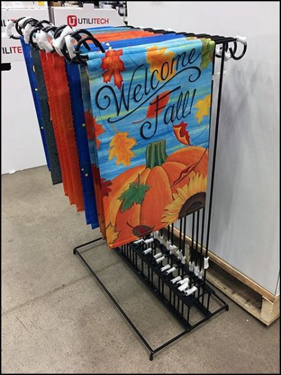 Welcome Fall Lawn Flag Merchandising