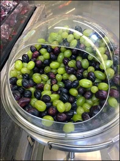 Grape Taste Test Covered Acrylic Sampling Stand