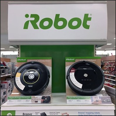 iRobot Endcap Display Feature