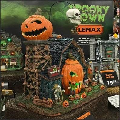 Spooky Town Village Mad Pumpkin Video