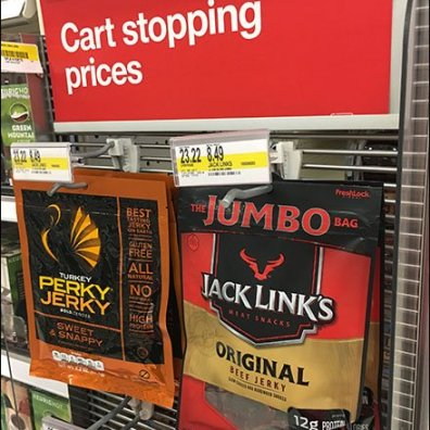 Perky Jerky And Jack Links Beef Jerky PowerWing