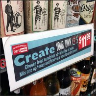 Create Your Own 6-Pack Shelf Talker Feature