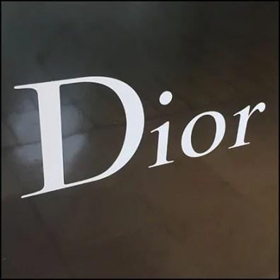 Dior Cosmetics Museum Case Pedestal Feature