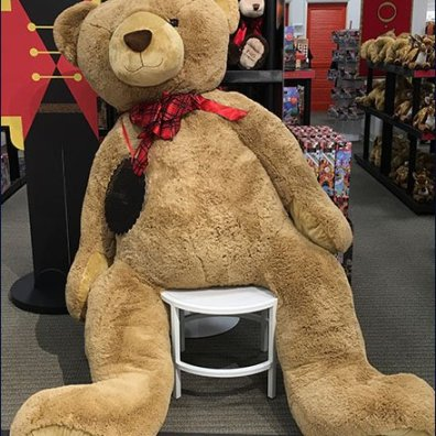 FAO Schwarz $1,000 Teddy Bear in XL 2
