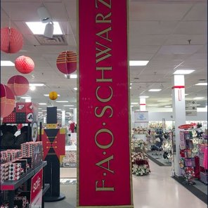 FAO Schwarz Branded Banner at BonTon