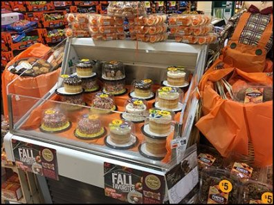 Original Fall Favorites Cake For Limited Time