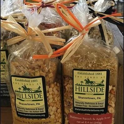 Twine-Tied Farm Store Soup Mix Merchandising