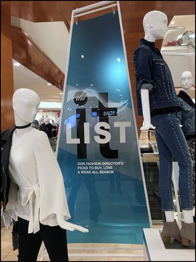 Fashion Director's It List Updated 2