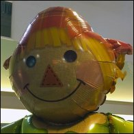 Fall Scarecrow Inflatable Celebrates Season