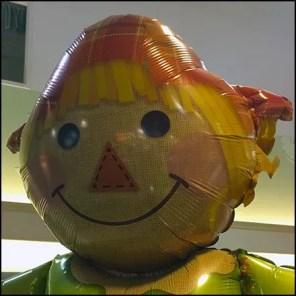 Fall Scarecrow Inflatable Celebrates Season