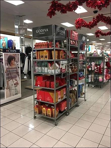 Godiva Chocolate Power Aisle Merchandising