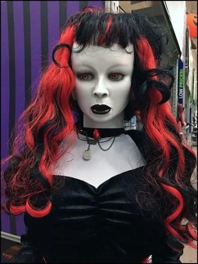 Black Widow Halloween Doll Spokesmodel