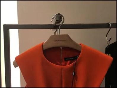 Karen Millen Flagship Branded Clothes Hangers