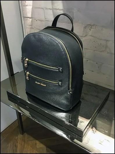 Backpack Black Chrome Pedestal Plinth at Karen Millen