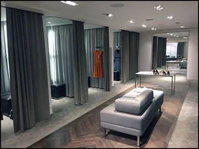 Karen Millen Flagship Mezzanine Fitting Rooms