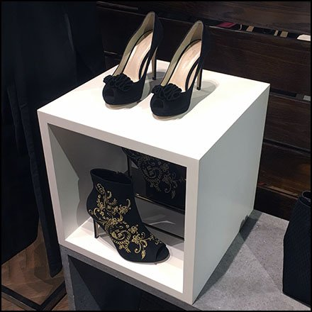 Shadowbox Cube at Karen Millen Flagship Store