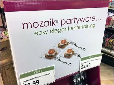 Mozaik Partyware For Easy Elegant Entertaining