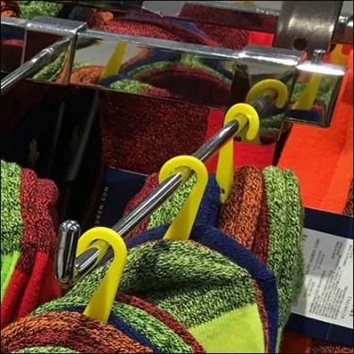 Polo Ralph Lauren Sock 90º Tip Display Hook
