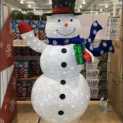 PreSeason Snowman Sale Goes Multilingual