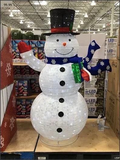 PreSeason Snowman Sale GoesMultilingual