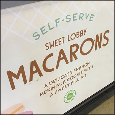 Self-Serve Macarons Six-fer Offer