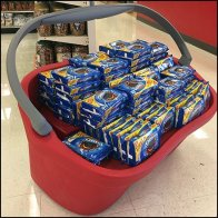 Giant Shopping Carry Display at Target
